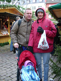 At the Christmas Market in Freiburg