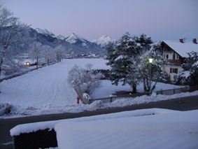 View from our B&B - Schwangau