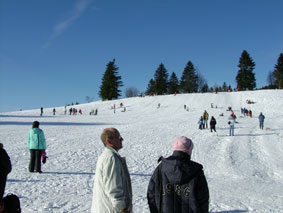 Feldberg - The slope we used to sleigh down